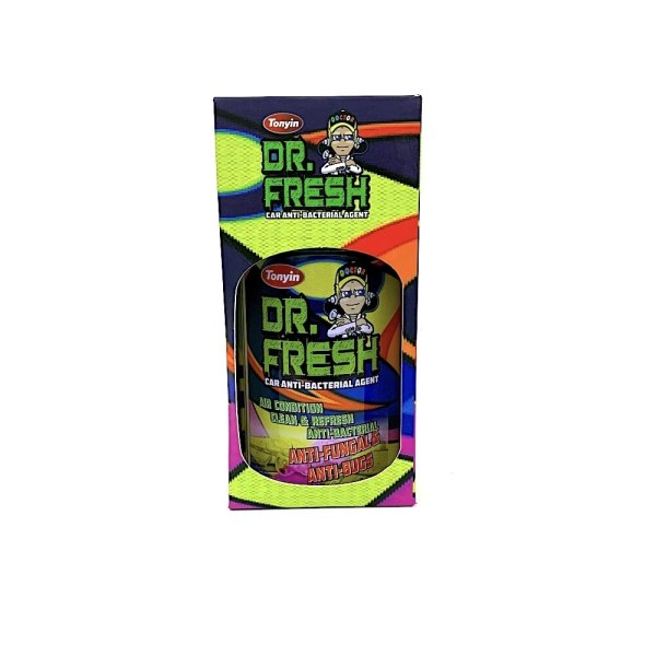 Dr. Fresh car disinfectant and ant-bacterial agent