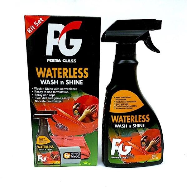 PG Perma Glass Waterless wash n shin