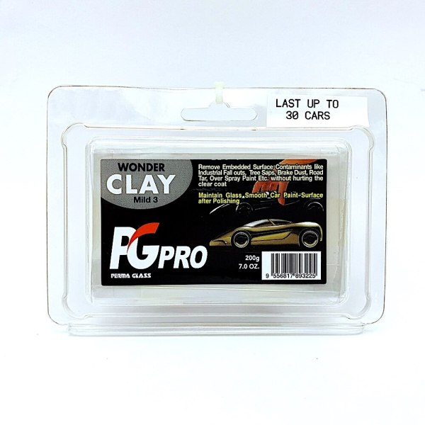 PG Pro Perma Glass Wonder Clay Bar No.3
