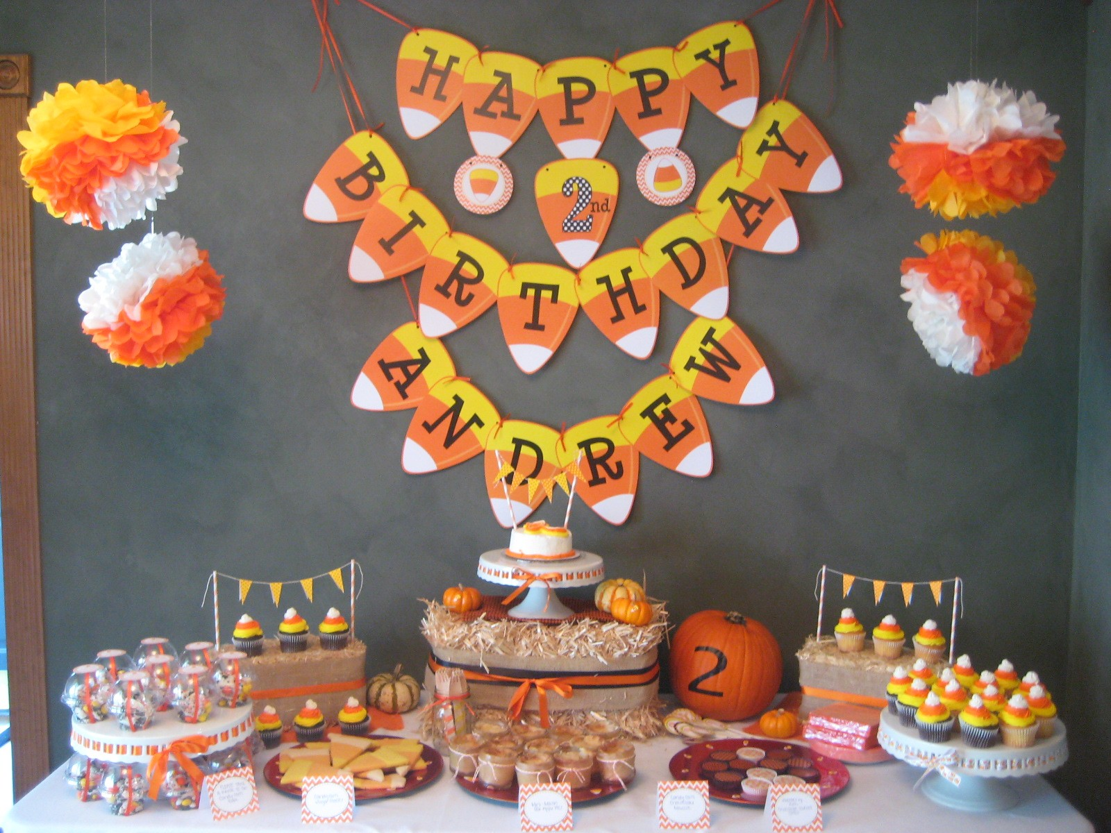 Fall Decorating Ideas Cute Cake