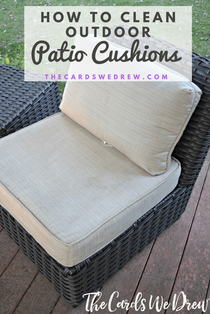 how to clean patio cushions the easy way