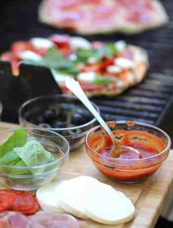 How to cook pizza on the grill step by step instructions