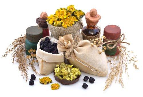 medicinal herbs and oils