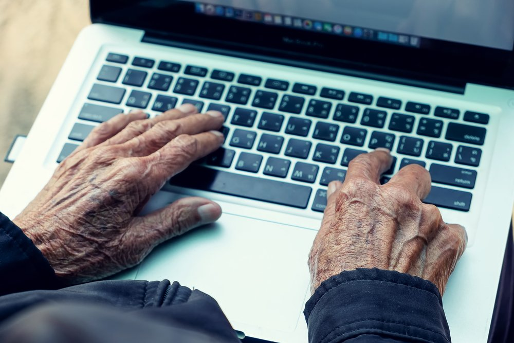 Getting seniors online for fun and learning