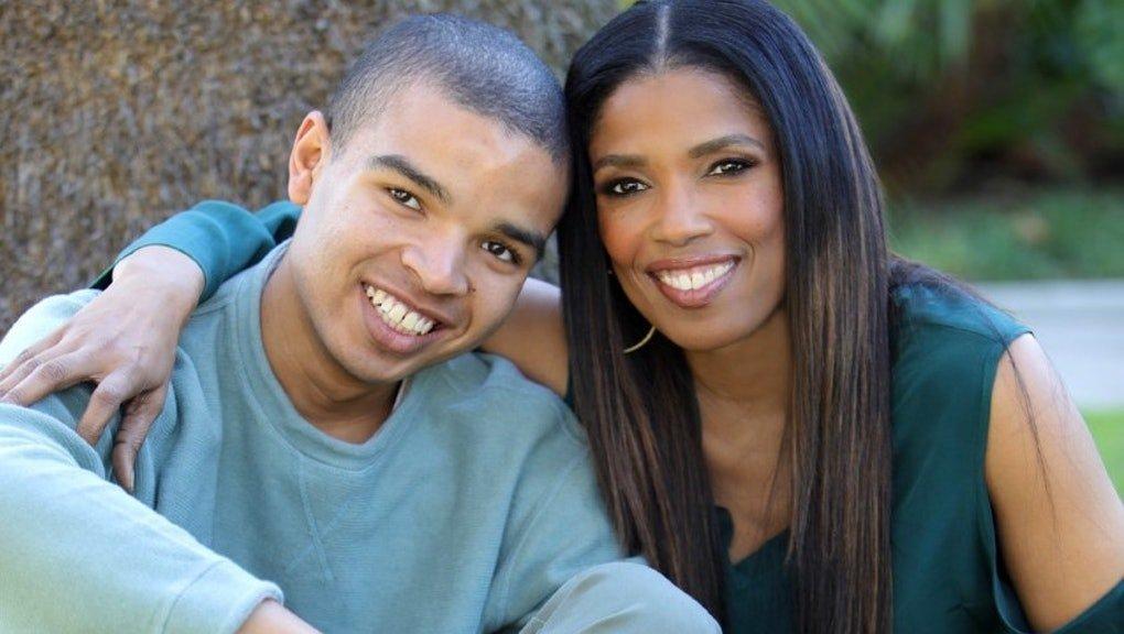 Areva Martin and her son