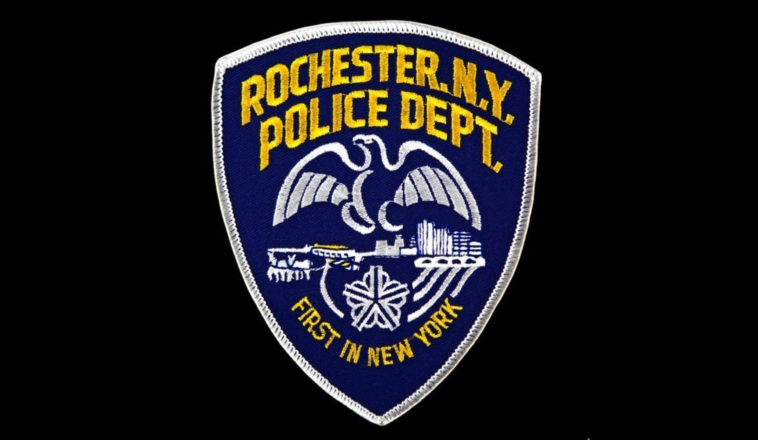 Rochester, New York Police Department uniform shoulder patch.