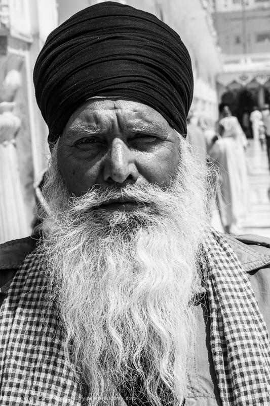 Guard At Golden Temple