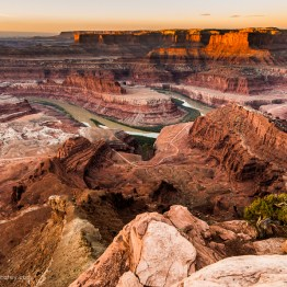 Canyonlands National Park from Dead Horse Point State Park, Utah, USA