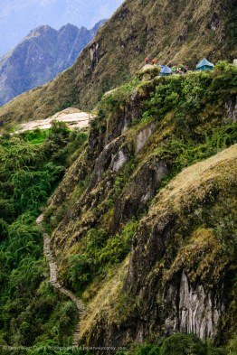The Inca Trail and Camp, Peru