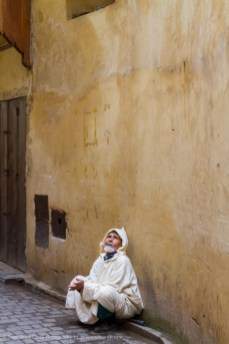 Beggar, Fez, Morocco