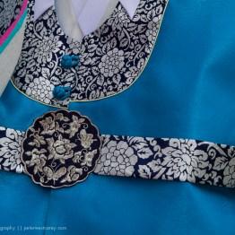 Korean Wedding Dress Detail