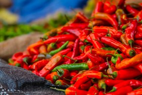 Chili Peppers, Jakar, Bhutan