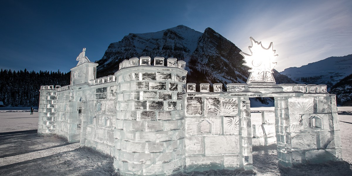 Photo Of The Day – Ice Castle At Fairmont Chateau Lake Louise + 3 More