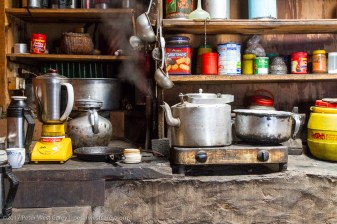Glimpse of kitchen - Nepal