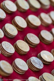 Stack of coins - Nepal