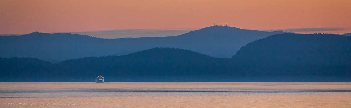 Photo Of The Day – BC Ferry At Sunset