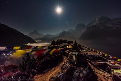 Night Photography In Mong La, Nepal