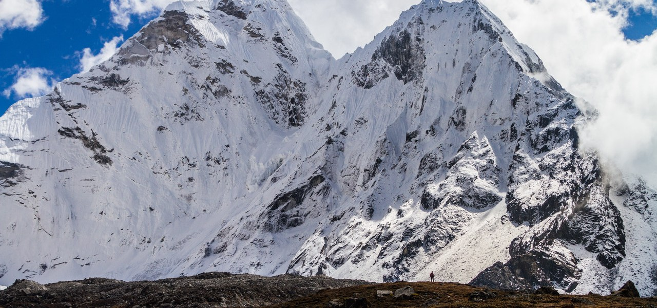 Photo Of The Day – Can You Spot The Man In Front Of The Mountain?