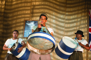 Musicians stand tall in Jerome Guiot's Pan! Our Musical Odyssey shot in Trinidad and Tobago.