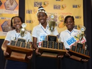 ) Assana Thompson-Runner Up (C) Chaunte Blackwell-Champion (R) Jadaqae Johnson 3rd