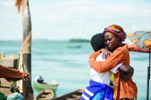 Oscar (TM) winner Lupita Nyong'o and newcomer Madina Nalwanga in Disney's QUEEN OF KATWE,