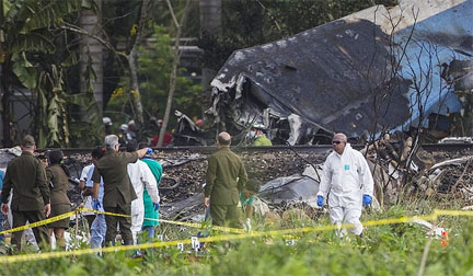 More than100 killed in plane crash in Cuba