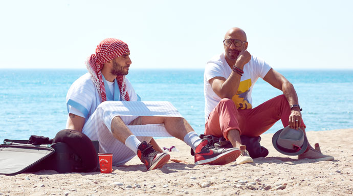 A comedy about culture, identity and friendship