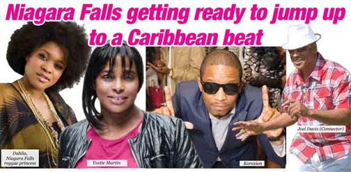 Niagara Falls  getting ready  to jump up to a Caribbean beat