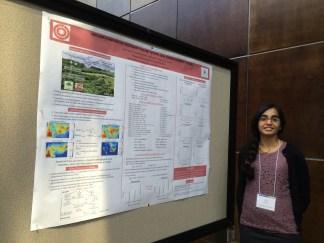 Neha presents at CMAS (Fall 2013)