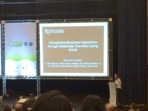 Dr. Carlton's invited talk at IGAC in Natal, Brazil (Fall 2014)