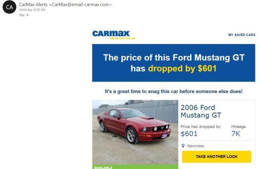 Mustang GT Price Drop