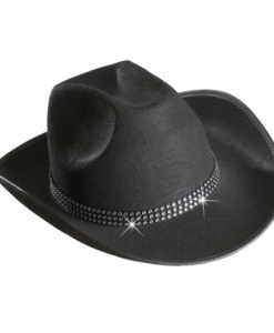 COWBOY HATS WITH STRASS BAND