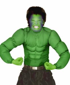 GREEN SUPER MUSCLE SHIRT