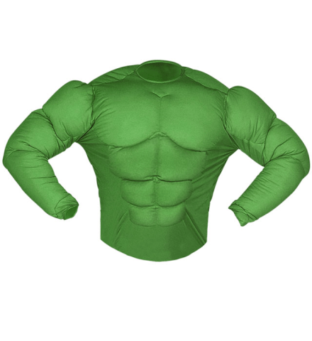GREEN SUPER MUSCLE SHIRT