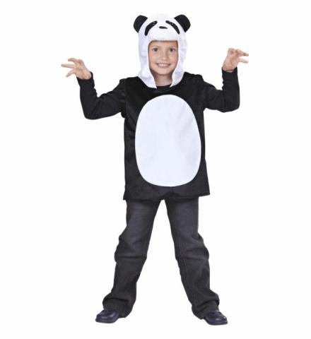 PANDA HOODED VEST