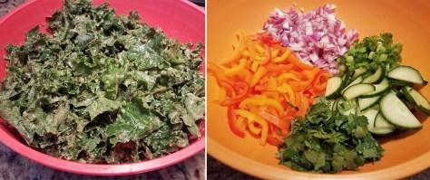 Peanutty Kale Salad