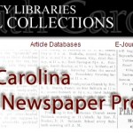 South Carolina Digital Newspapers