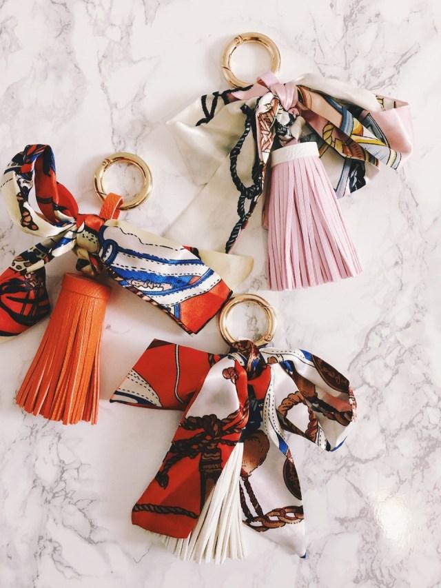 Tassel Keychain Bag Charm
