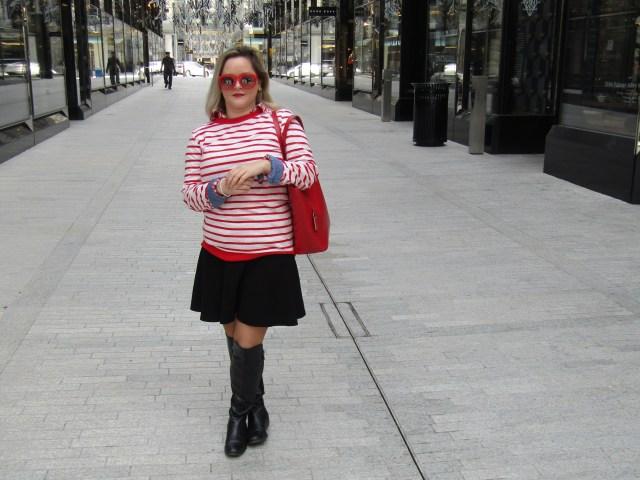 the carolove heart sweater