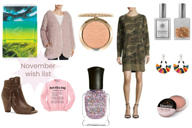 the carolove november wish list