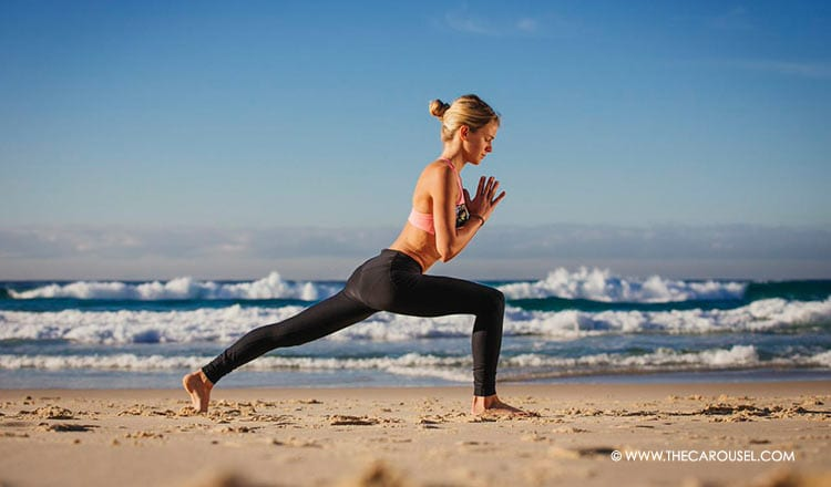 Yoga Pose Of The Week: Master Your Alignment With The Crescent Pose 2