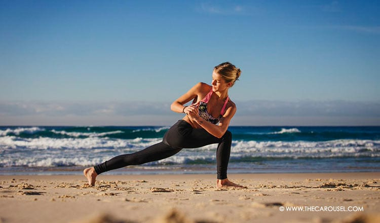 Yoga Pose Of The Week: Master Your Alignment With The Crescent Pose 3
