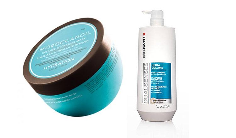 oil-and-shampoo