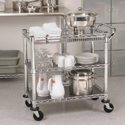 trolley in kitchen