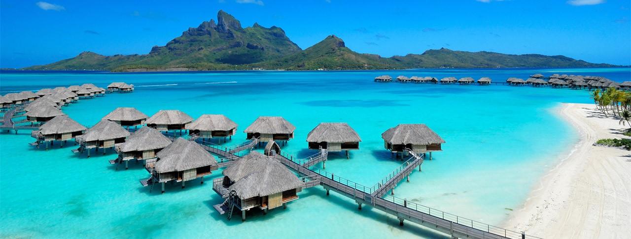 Hotel Four Season, Bora Bora romantic