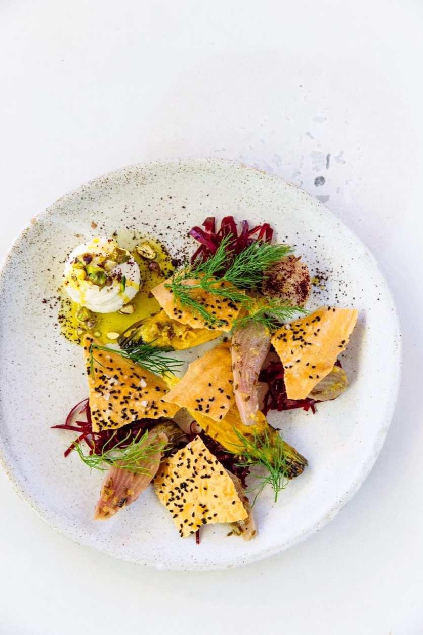 Baby Heirloom Beetroot Salad Recipe From Nour Restaurant in Sydney's Crown Street