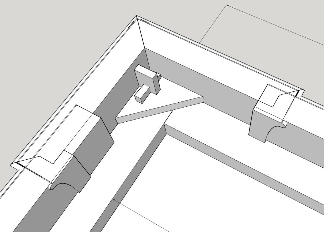 Patrick's Cabinet II corner unit