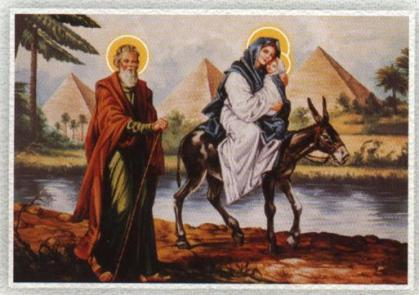 Holy Family's Flight to Egypt