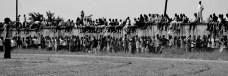 Spectators at the Gulu District Athletics (Track) Meet