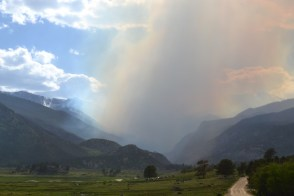 Forest Fire in Rocky Mountain National Park